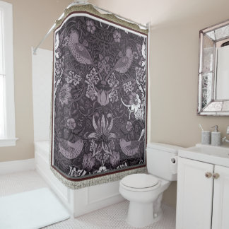 Vintage Abstract Shower Curtain