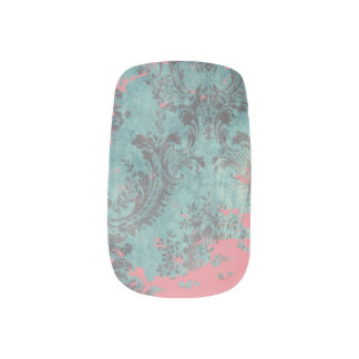Vintage Abstract Texture Minx Art, Single per Hand Minx Nail Art