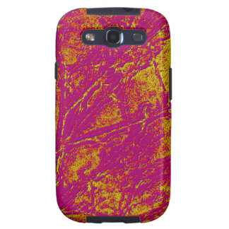 Vintage Acrylic Colormania Energy Plate Galaxy SIII Cases