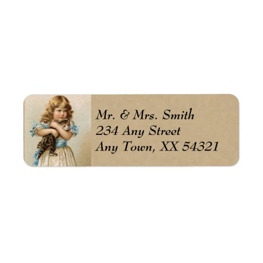 Vintage Address Labels - Small