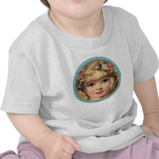 Vintage Advert T-shirt, Girl with Flowers