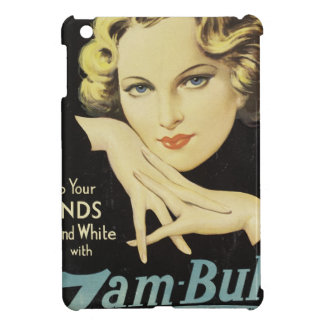 Vintage Advertisement Hand Cream Woman Blond Hair iPad Mini Cover