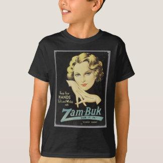 Vintage Advertisement Hand Cream Woman Blond Hair T-Shirt