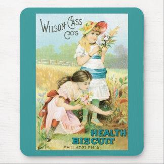 Vintage Advertisement Mouse Pad