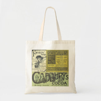 Vintage advertising Cadbury Schweppes tote bag
