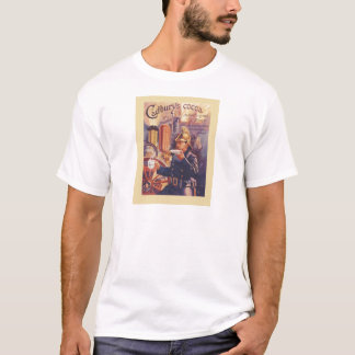 Vintage advertising, Cadbury's Cocoa, Fireman T-Shirt