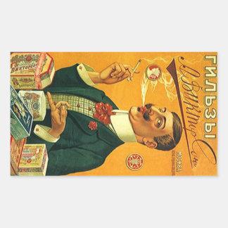 Vintage Advertising Fashion Man Smoke Cigarettes