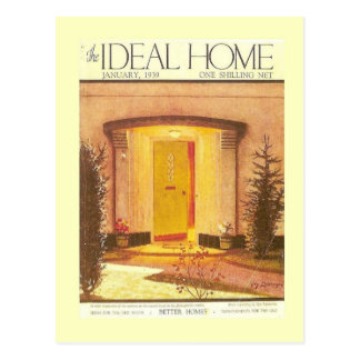 Vintage advertising, Ideal Home 1935 Postcard