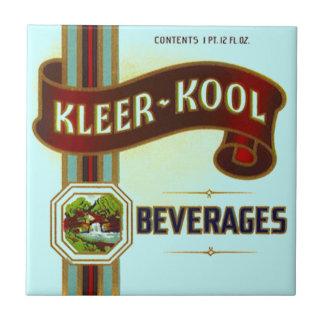 Vintage Advertising Kleer Kool Beverages Bev Tile