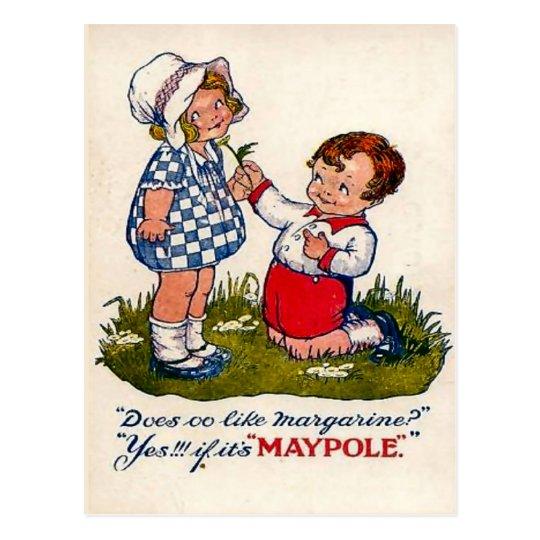 Vintage advertising, Magarine Postcard