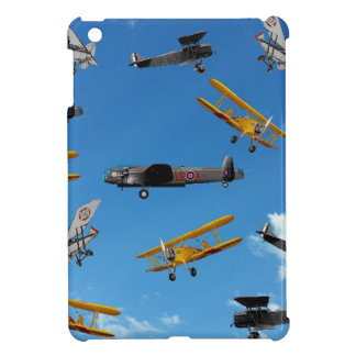 vintage aeroplane design iPad mini cases