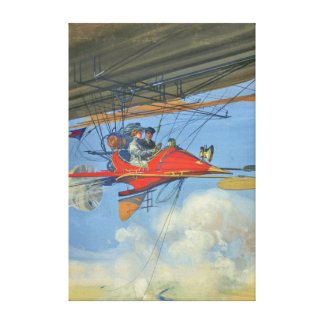 Vintage Aerostatic Cabriolet of Tomorrow Canvas Print