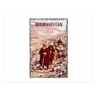 Vintage Afghanistan Postcard