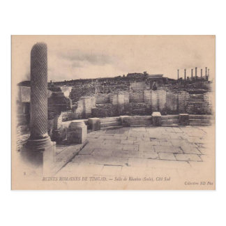 Vintage Africa Roman Remains, Timgad Postcard