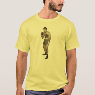 Vintage African American Boxer in Boxing Pose T-Shirt