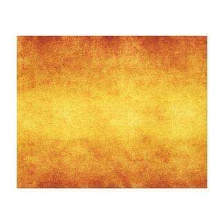 Vintage Aged Amber Burnt Umber Parchment Paper Canvas Print