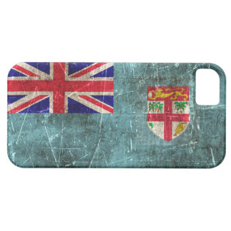Vintage Aged and Scratched Flag of Fiji Case For The iPhone 5