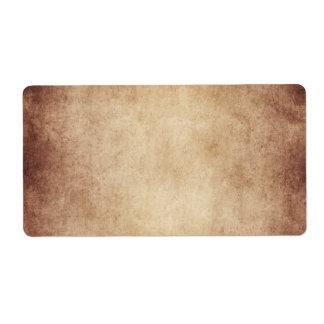Vintage Aged Parchment Paper Template Blank
