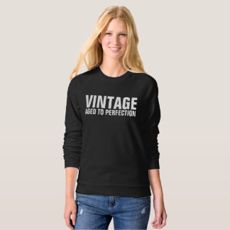 VINTAGE AGED TO PERFECTION Funny Birthday T-shirts
