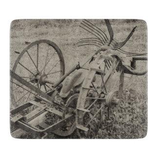 Vintage agricultural machine boards