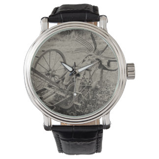 Vintage agricultural machine watch