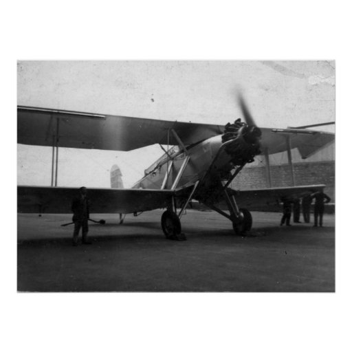 Vintage Aircraft Circa 1933 Poster