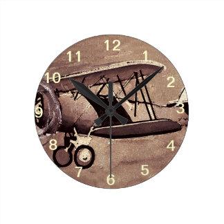 Vintage Aircraft Wall Clock