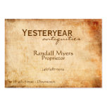 Vintage Airmail Large Business Cards (Pack Of 100)
