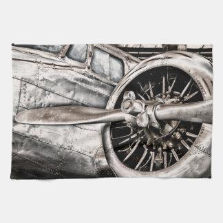 Vintage Airplane Kitchen Towel