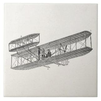 Vintage Airplane Retro Old Biplane Plane Biplanes Tiles