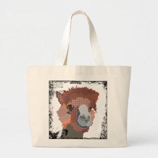 Vintage Al Alpaca Art Bag