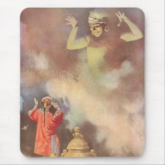 Vintage Aladdin and the Genie of the Lamp, Godwin Mouse Pad