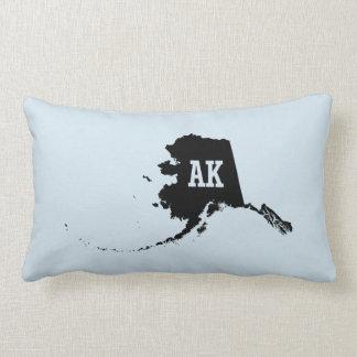 Vintage Alaska State Map AK Pillows