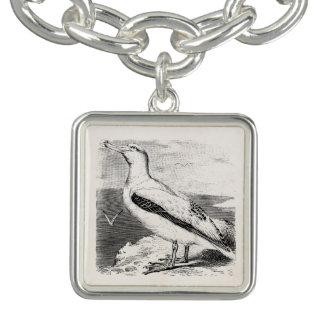 Vintage Albatross Seagull Sea Gull Gulls Seabird Charm Bracelets