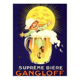 Vintage Alcohol Ads Prints Postcard