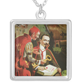 Vintage Alexander Fredrik Magic Poster Custom Jewelry