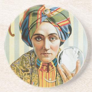 Vintage Alexander Magician Poster 1915 Coaster