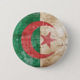 Vintage Algeria Flag 2 Inch Round Button