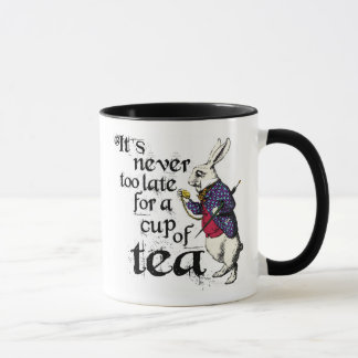 Vintage Alice in The Wonderland Rabbit Mug