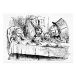 Vintage Alice in Wonderland Baby Shower Invitations