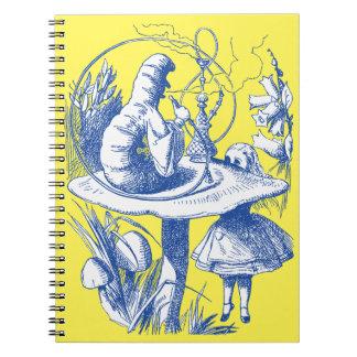 Vintage Alice in Wonderland Centipede Notebook