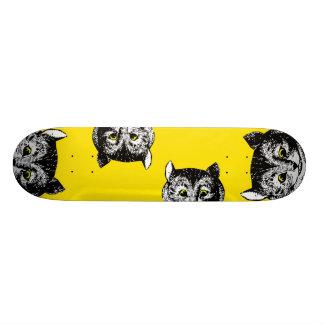 Vintage Alice in Wonderland Cheshire Cat Art Deck Skateboard