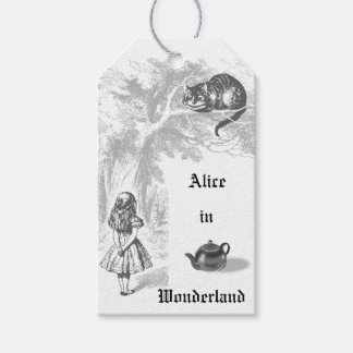 Vintage Alice in Wonderland Gift Tags