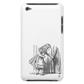 Vintage Alice in Wonderland looking for the door Barely There iPod Cover