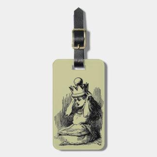 Vintage Alice in Wonderland Luggage Tag