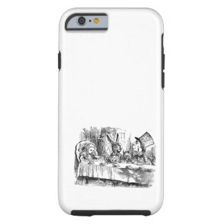 Vintage Alice in Wonderland Mad Hatter tea party Tough iPhone 6 Case