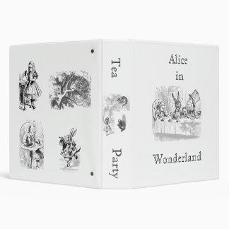 Vintage Alice in Wonderland Planner Binder