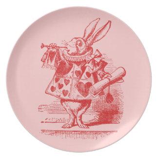 Vintage Alice in Wonderland Plate