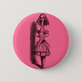 Vintage Alice in Wonderland Stretched 2 Inch Round Button