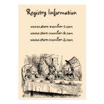 Vintage Alice in Wonderland, Tea Party Scene Business Card